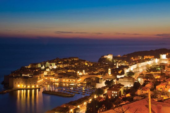 Dubrovnik - Harbour at Night
