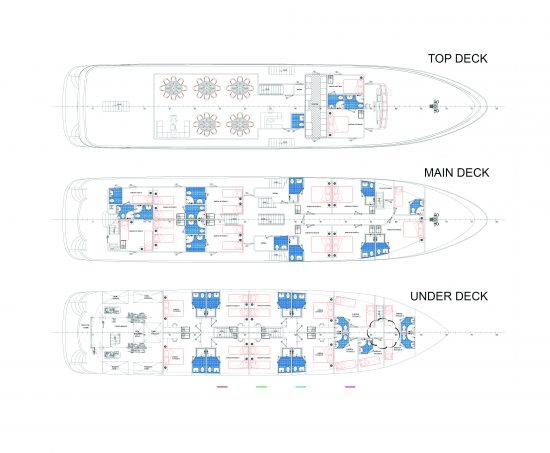 MS Admiral Deck Plan