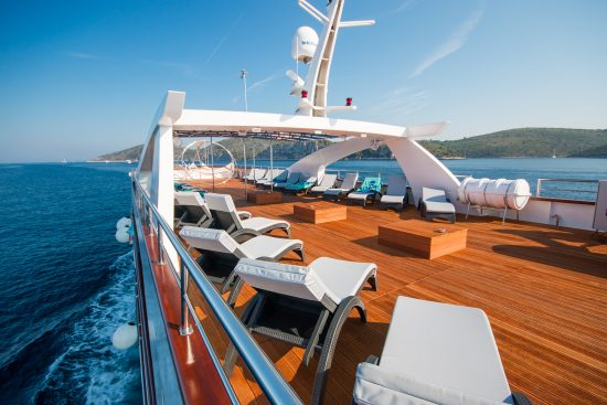 MS Aquamarin Sun deck