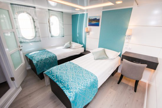 MS Aquamarin Twin Cabin