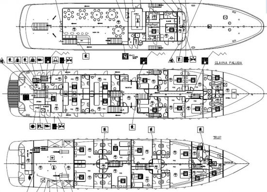 MS Adriatic Princess - Deck Plan