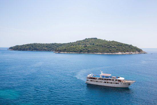 MS Kleopatra Cruising the Adriatic