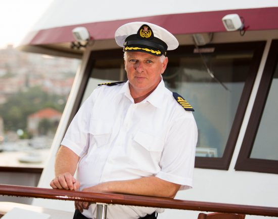 MS Princess Aloha Captain