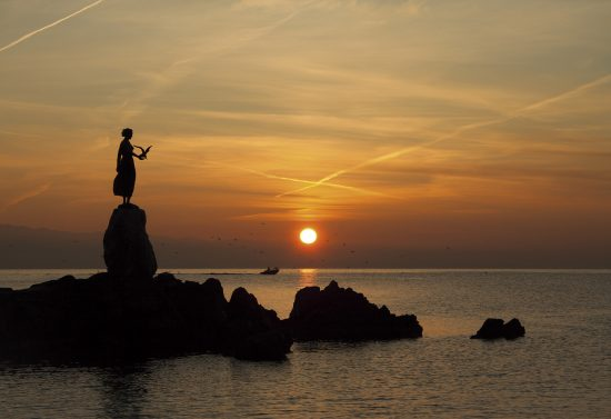 Opatija - Maiden with Seagull Statue