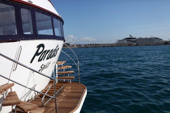 MS Paradise Swimming platfor