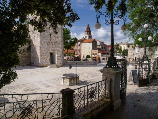 Zadar city centre