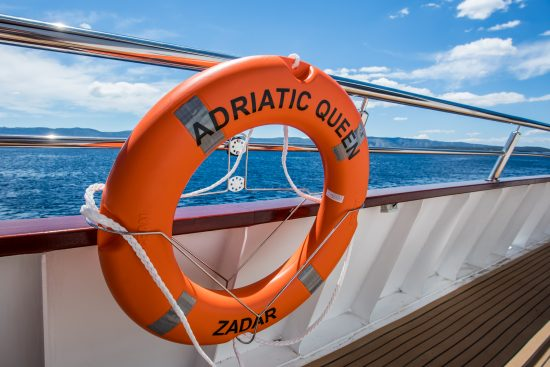 MS Adriatic Queen - Deck