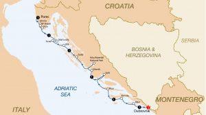 Istria and the Dalmatian Coast 2017 (Dubrovnik - Porec)