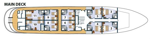 Karizma Deck Plan 2