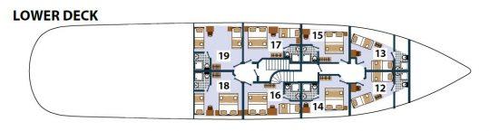 Karizma Deck Plan 3