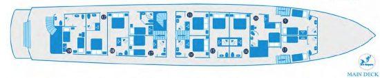 Kleopatra Deck Plan 3