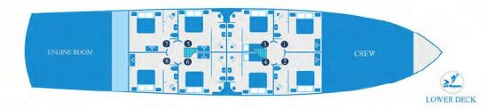 Kleopatra Deck Plan 4