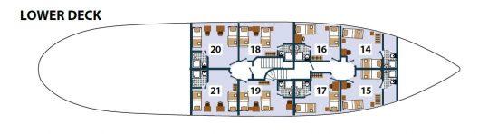 Prestige Deck Plan 3