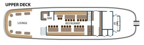 Princess Aloha Deck Plan 1