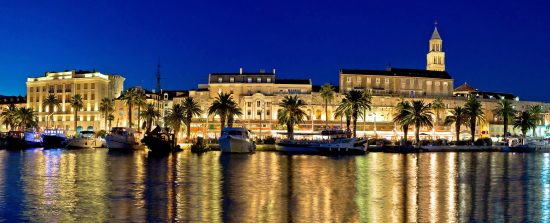 Split - Waterfront at Night