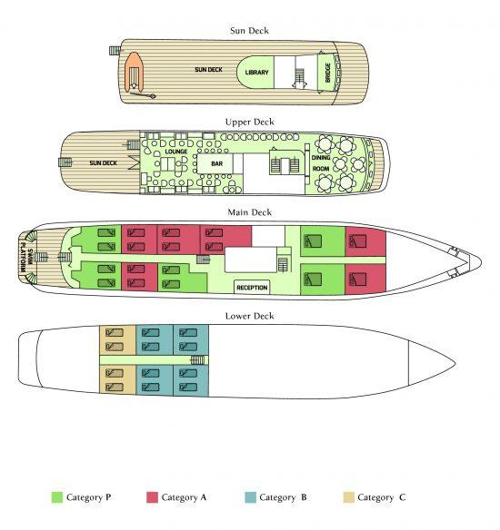 Callisto deck plan