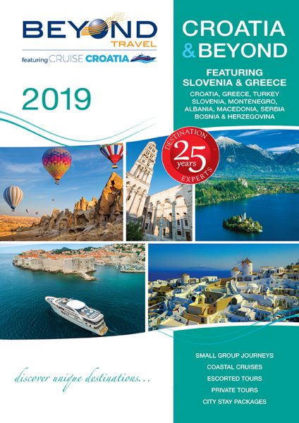 Croatia & Beyond 2019 Brochure Cover