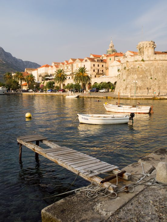 Korcula - view of the Old Town