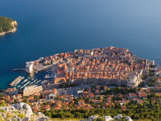 Dubrovnik from Srd Mountain