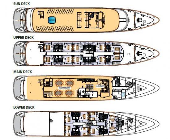 MS My Wish Deck Plan