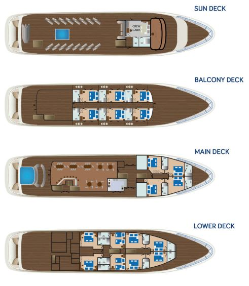 MS Symphony - Deck Plan