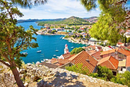 Sibenik - beautiful views of coastal Dalmatia