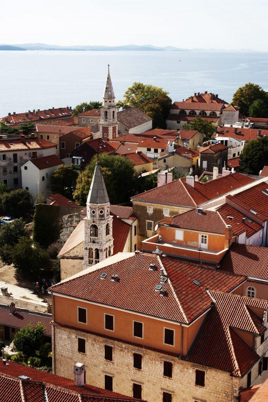Rooftops of Zadar, Croatia