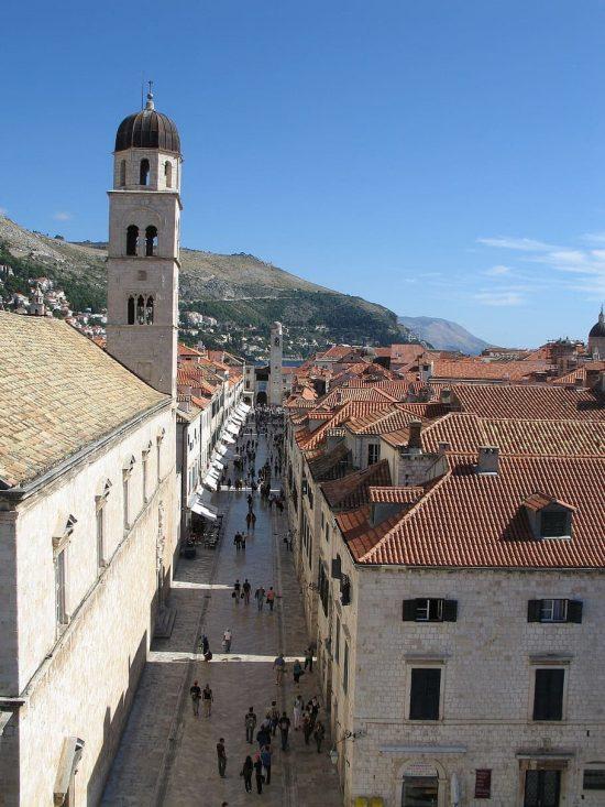 The Stradun, Old Town of Dubrovnik