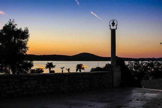Twilight in Sibenik, Croatia