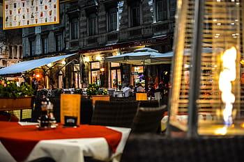 Evening dining in Split, Croatia