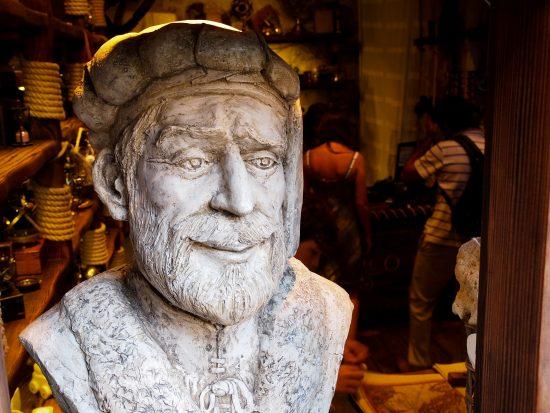 Statue of Marco Polo, Korcula