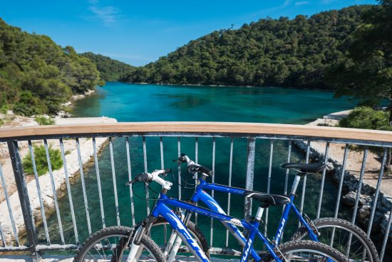 Hire a bike and ride through Mljet National Park